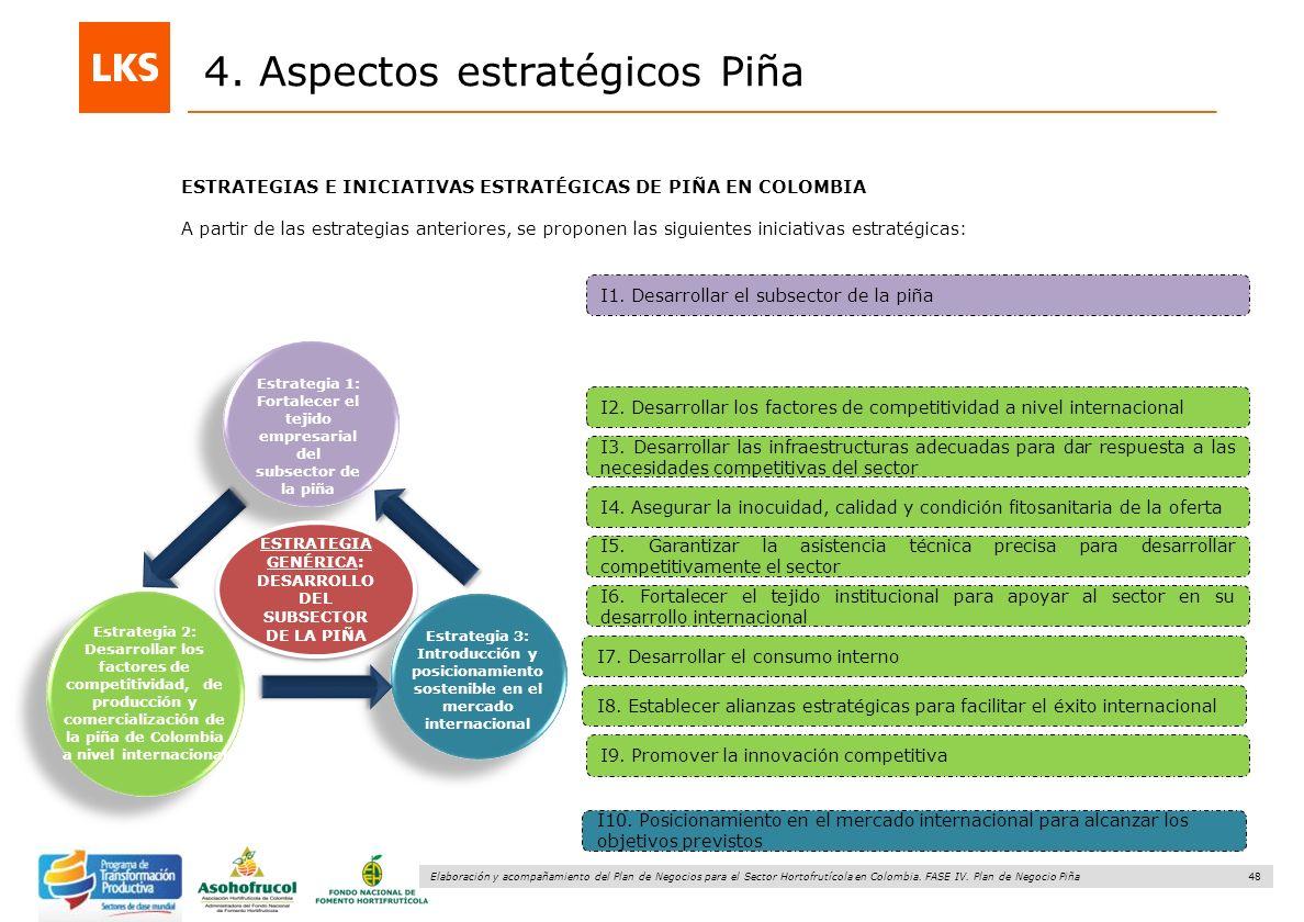 4. Aspectos estratégicos Piña
