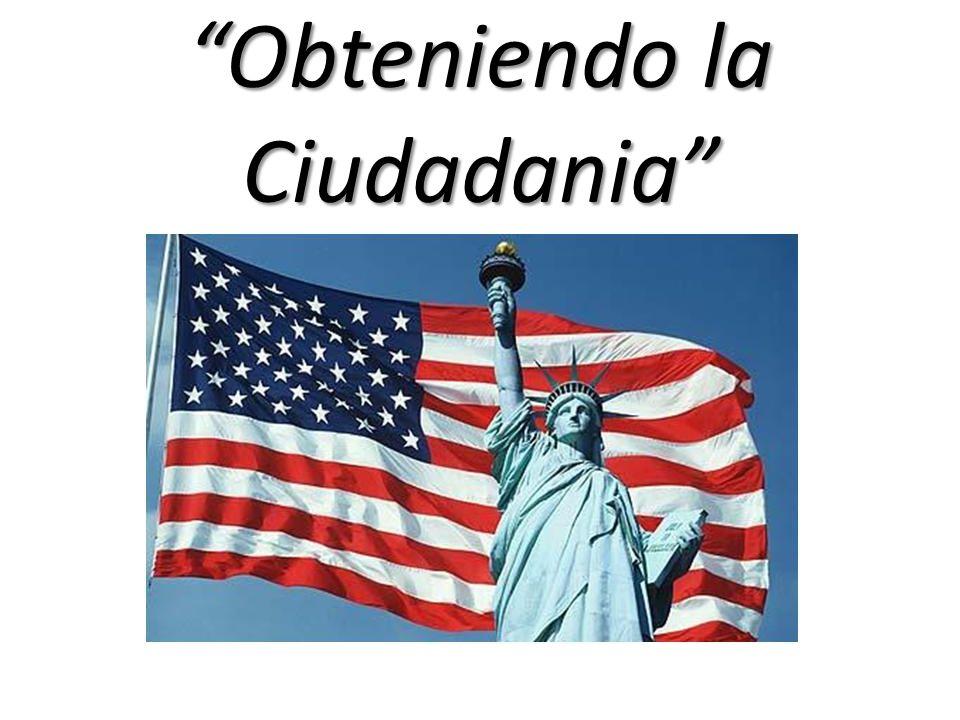Obteniendo la Ciudadania