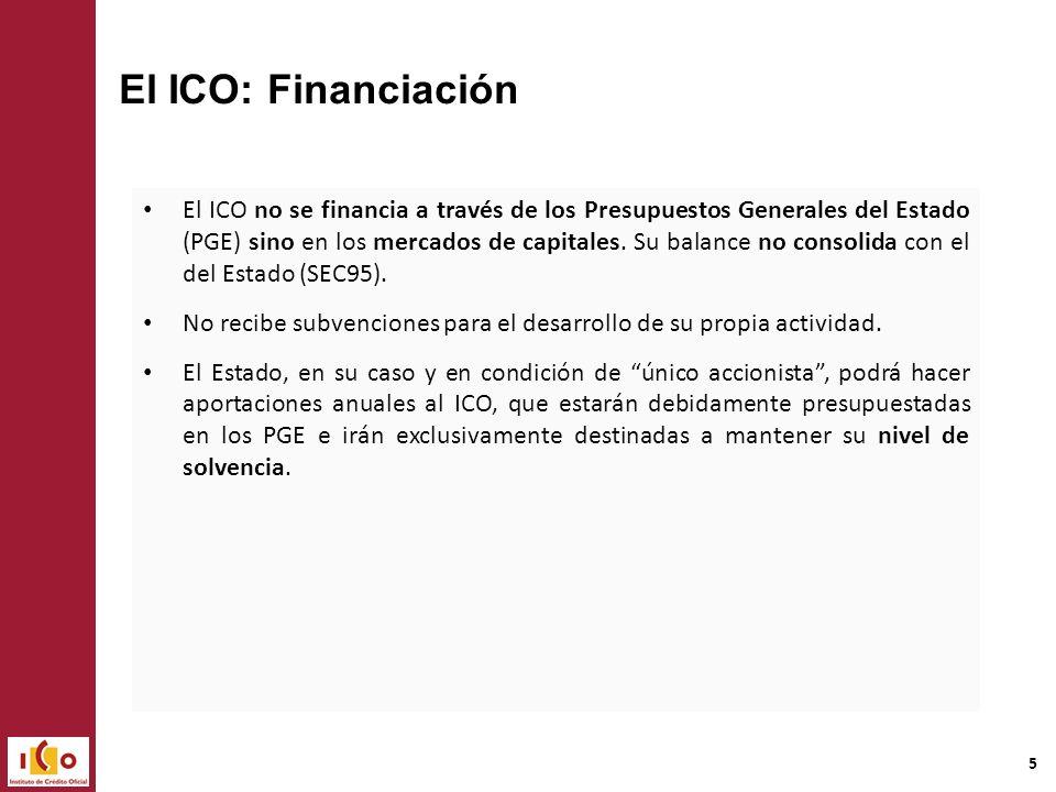 El ICO: Financiación