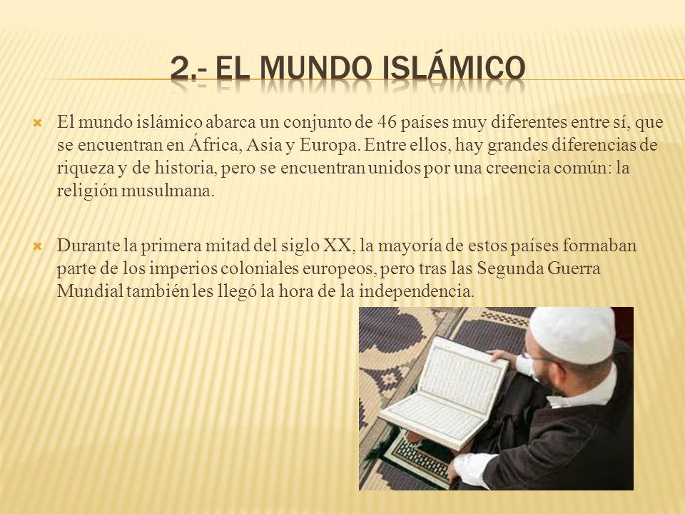 2.- El mundo islámico