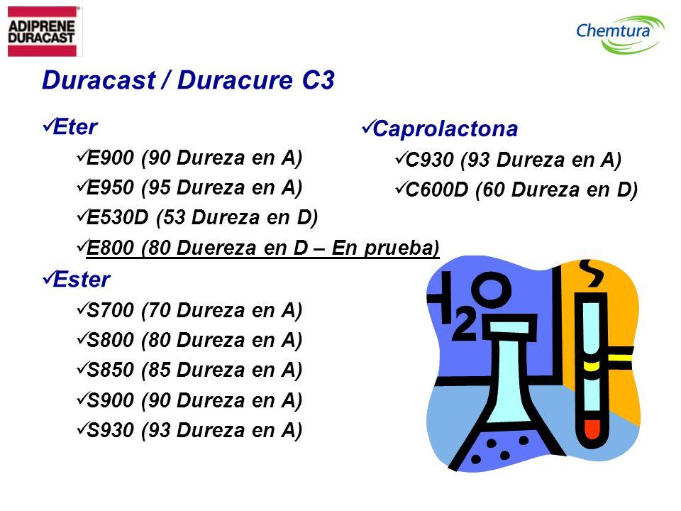 Duracast / Duracure C3 Eter Caprolactona Ester E900 (90 Dureza en A)