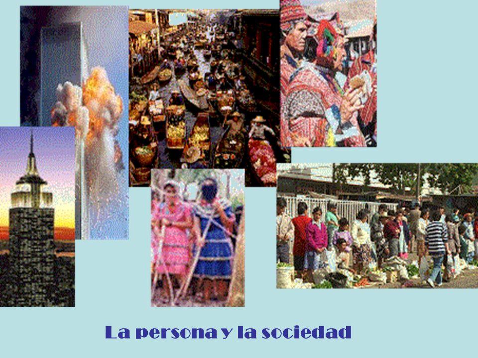 La persona y la sociedad