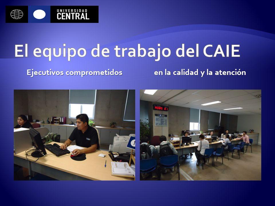 El equipo de trabajo del CAIE