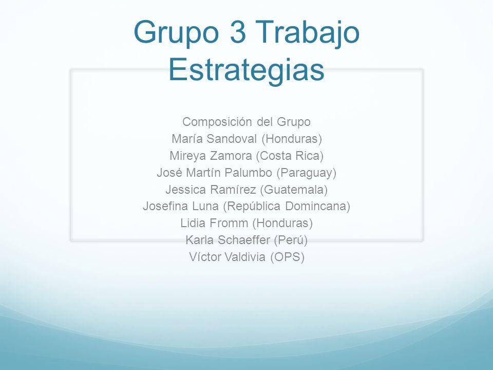 Grupo 3 Trabajo Estrategias