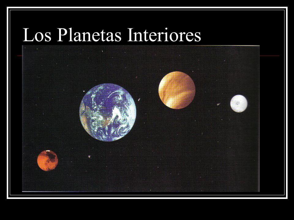 El origen del universo ppt descargar - Caracteristicas de los planetas interiores ...