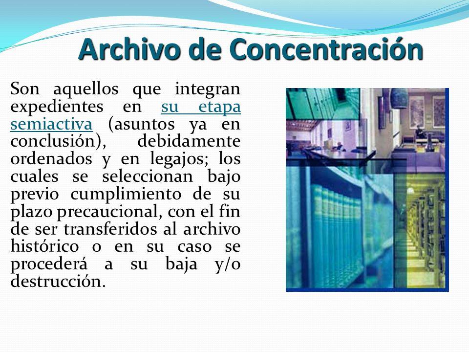 Archivo de Concentración
