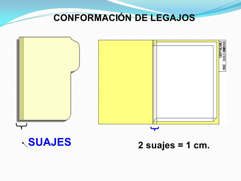CONFORMACIÓN DE LEGAJOS