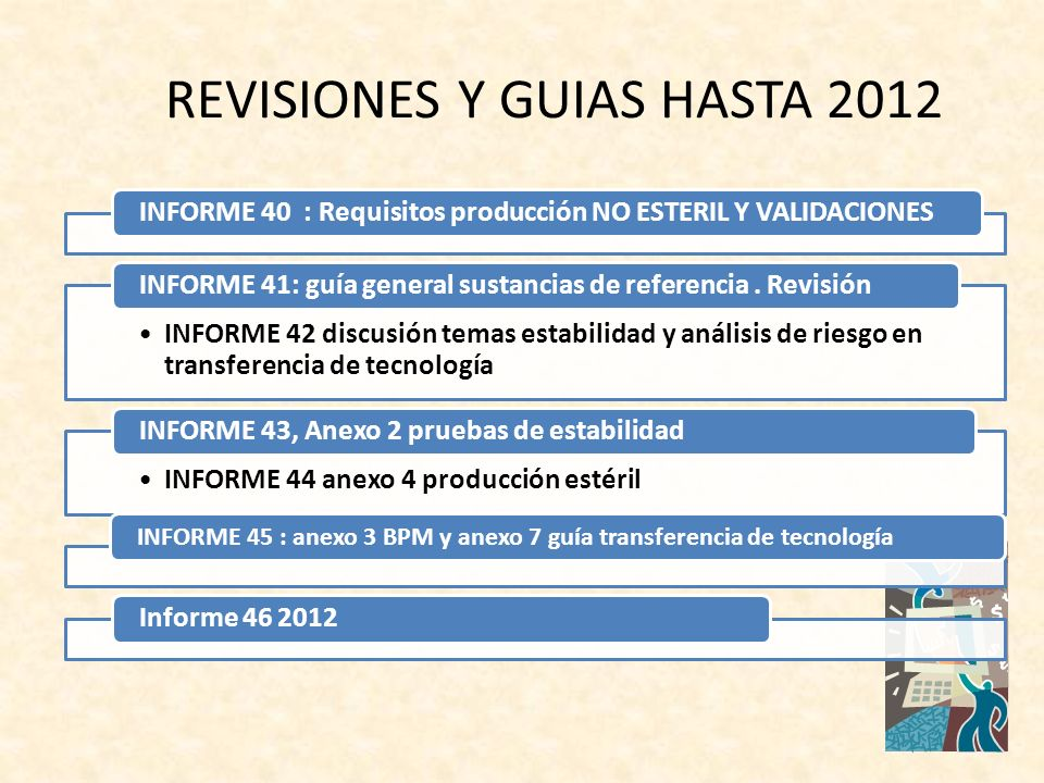 REVISIONES Y GUIAS HASTA 2012