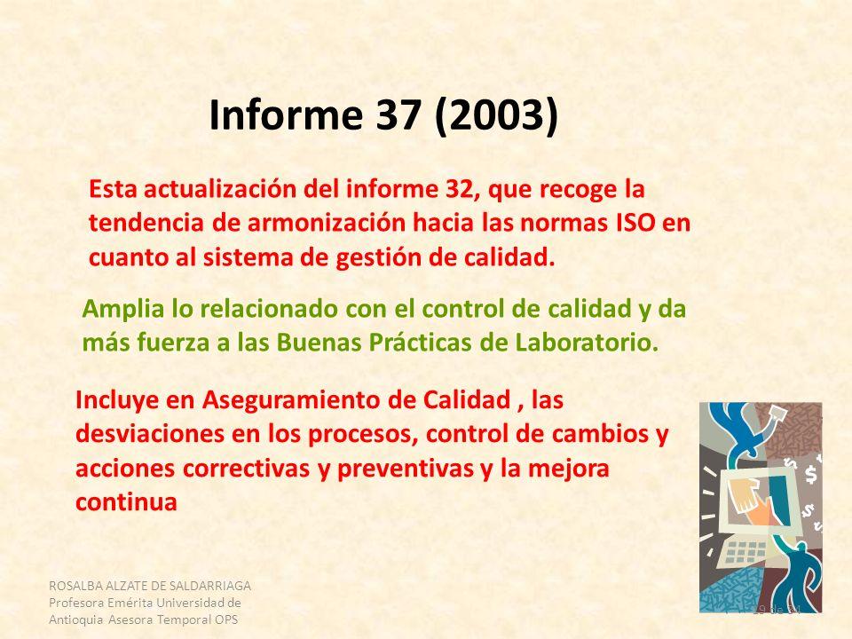 Informe 37 (2003)
