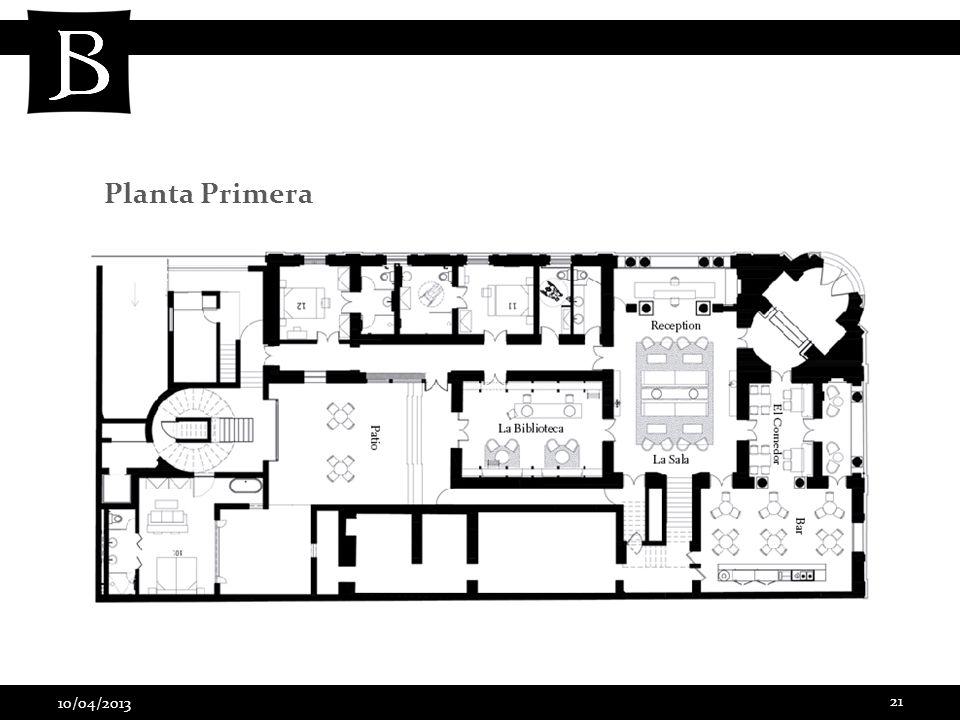 Planta Primera 10/04/2013