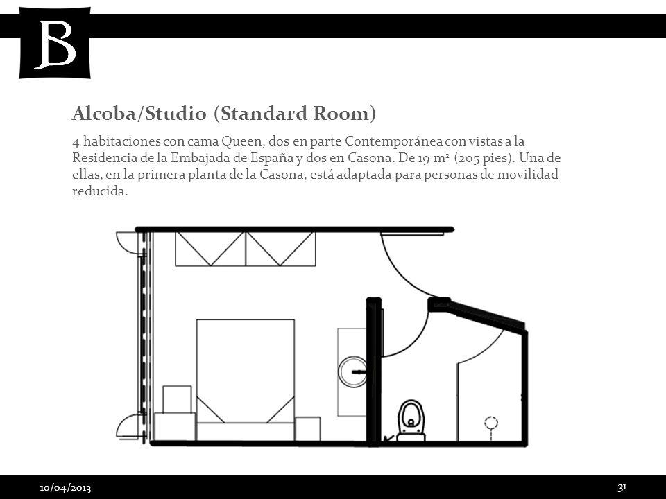 Alcoba/Studio (Standard Room)