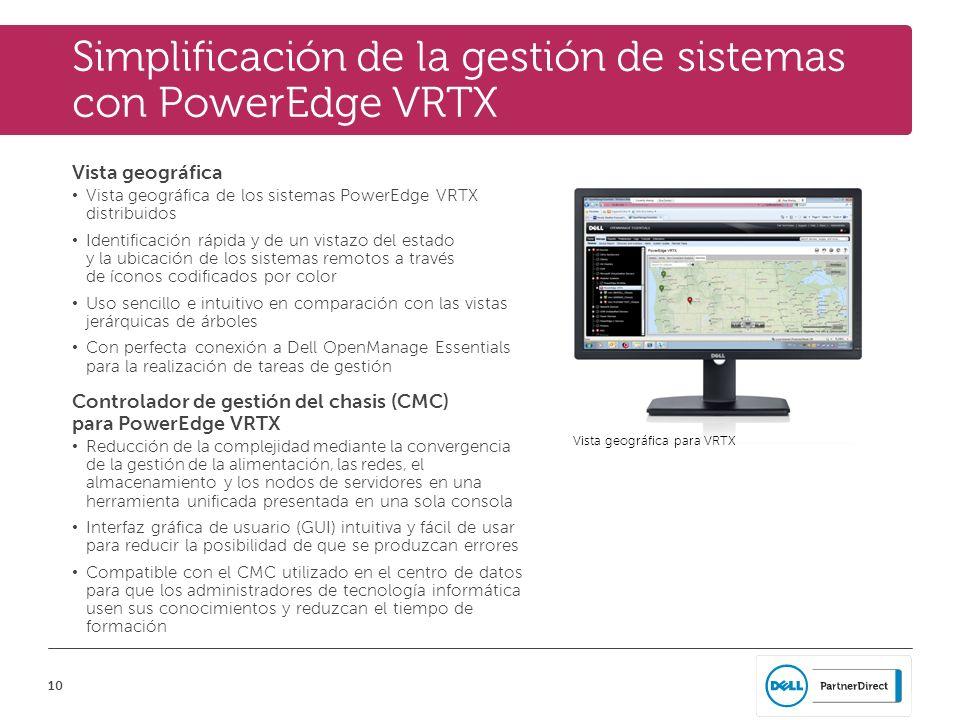 Simplificación de la gestión de sistemas con PowerEdge VRTX
