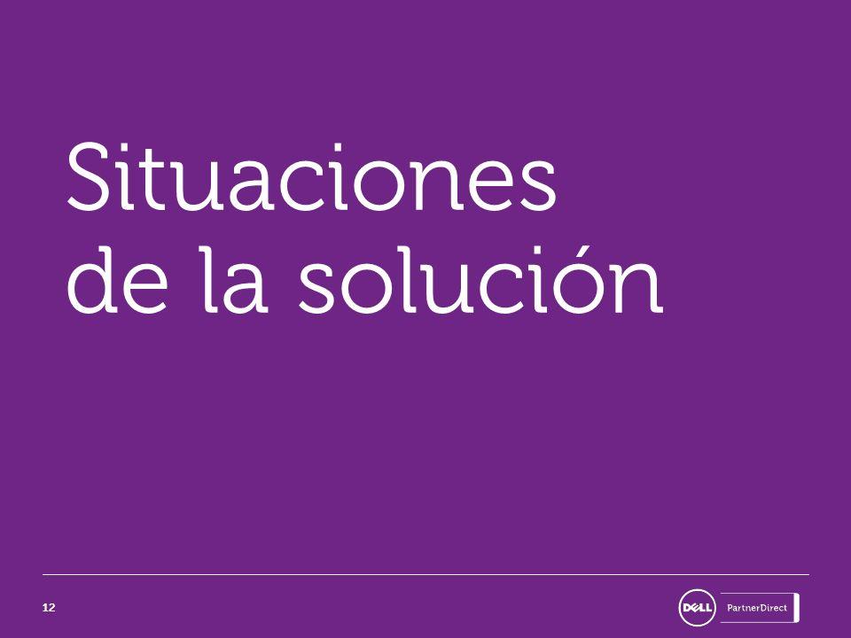 Situaciones de la solución