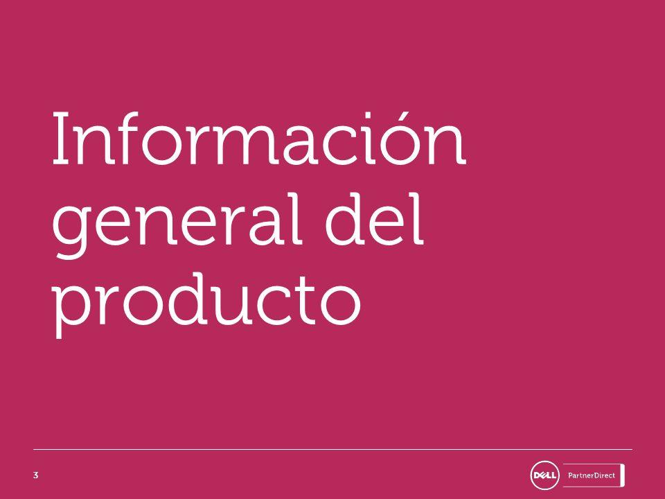 Información general del producto