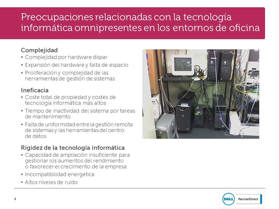 Preocupaciones relacionadas con la tecnología informática omnipresentes en los entornos de oficina
