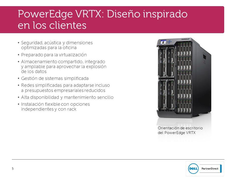 PowerEdge VRTX: Diseño inspirado en los clientes