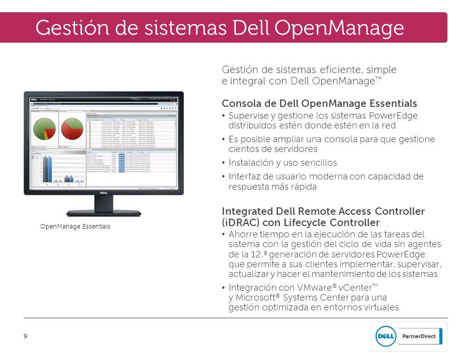Gestión de sistemas Dell OpenManage