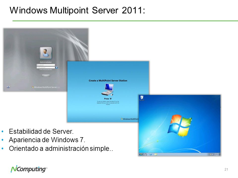 Windows Multipoint Server 2011: