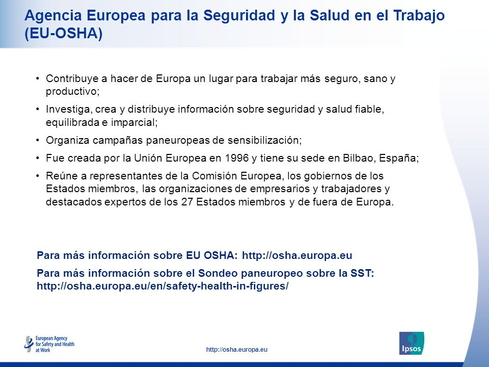 Agencia Europea para la Seguridad y la Salud en el Trabajo (EU-OSHA)