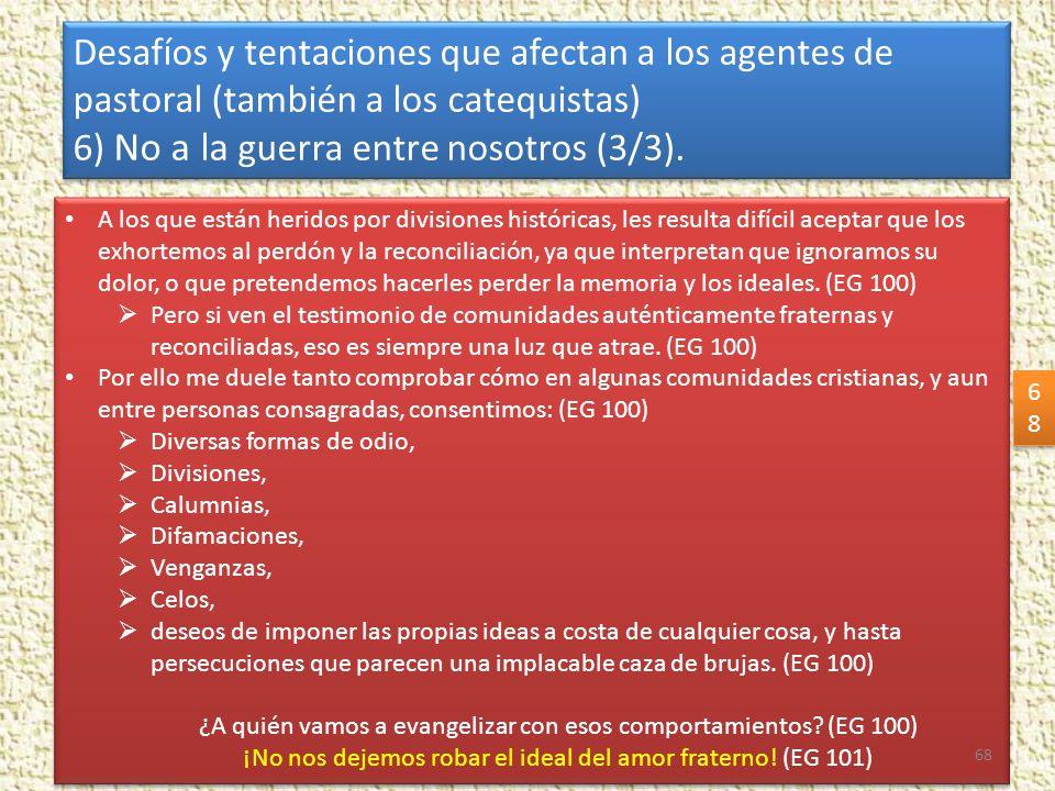 6) No a la guerra entre nosotros (3/3).