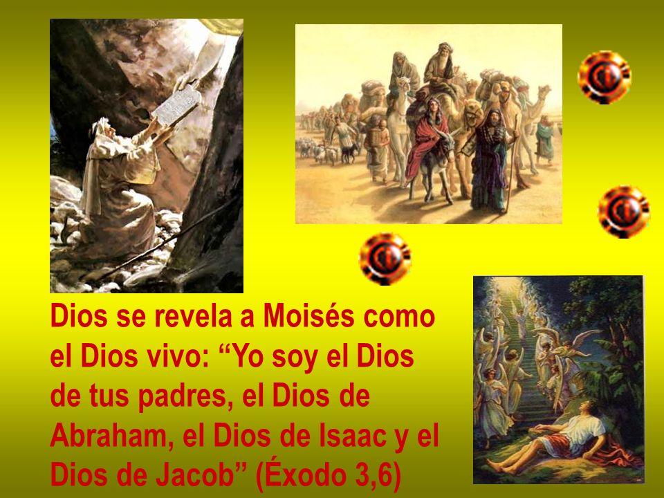Dios se revela a Moisés como
