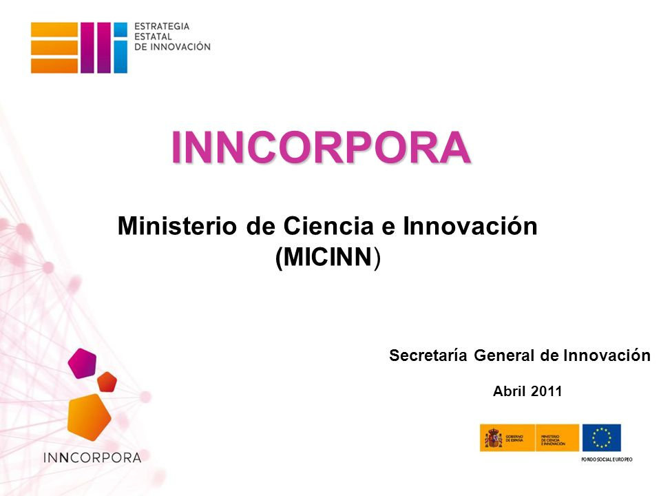 Ministerio de Ciencia e Innovación (MICINN)