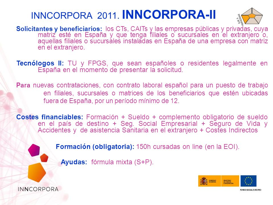 INNCORPORA 2011. INNCORPORA-II