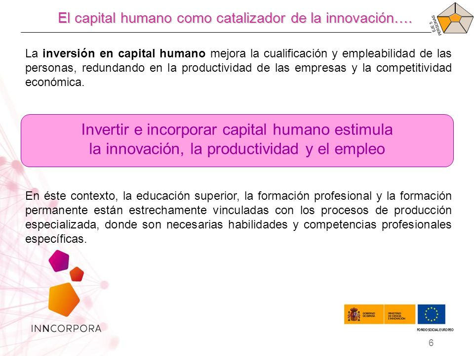 Invertir e incorporar capital humano estimula