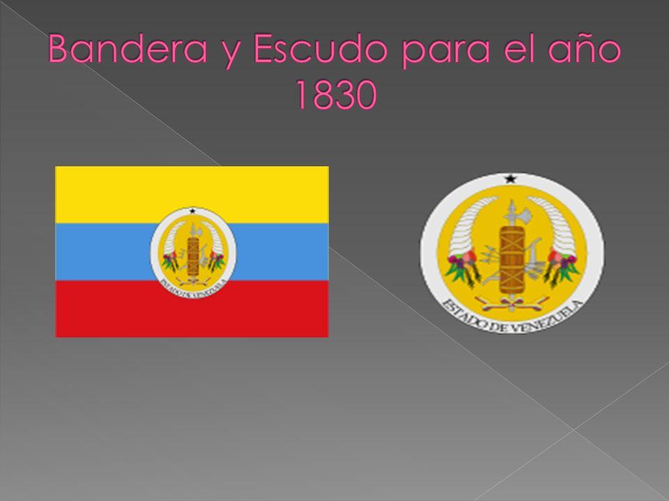 Bandera y Escudo para el año 1830