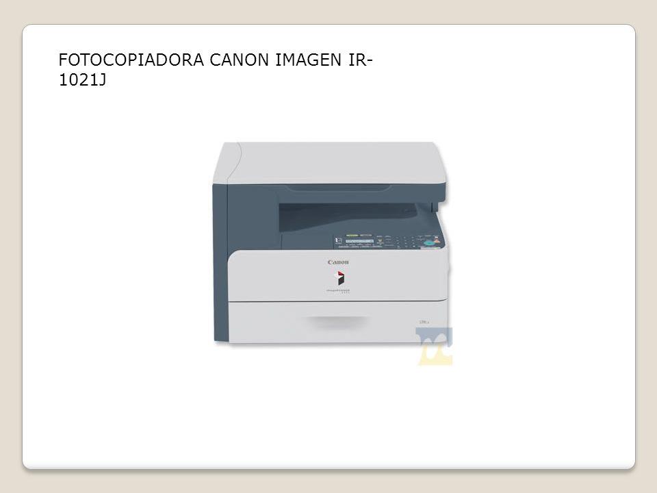 FOTOCOPIADORA CANON IMAGEN IR-1021J