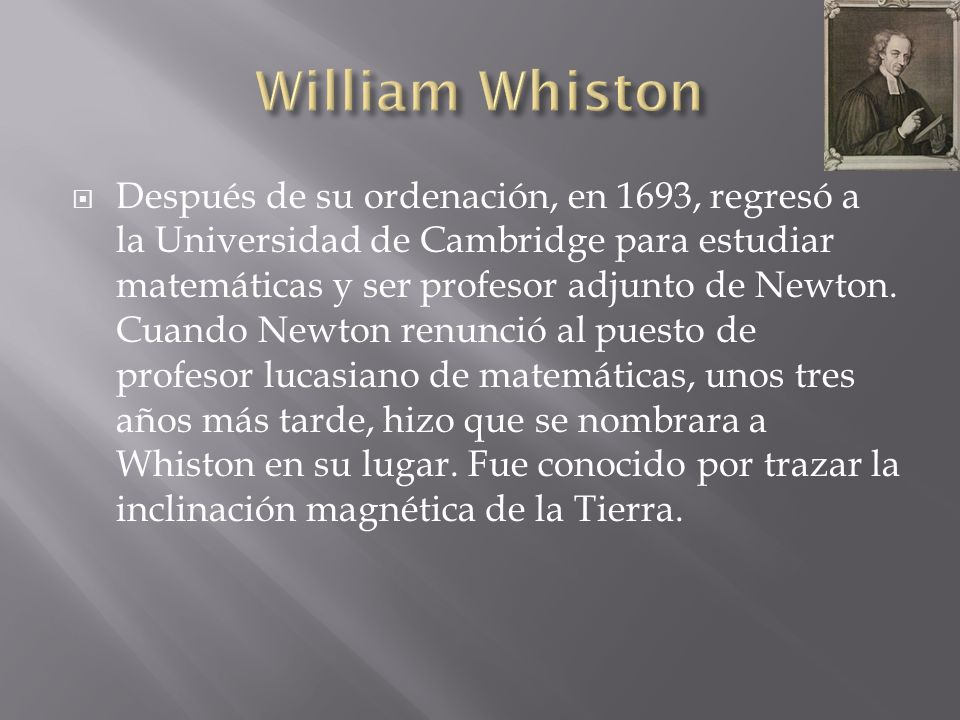 William Whiston