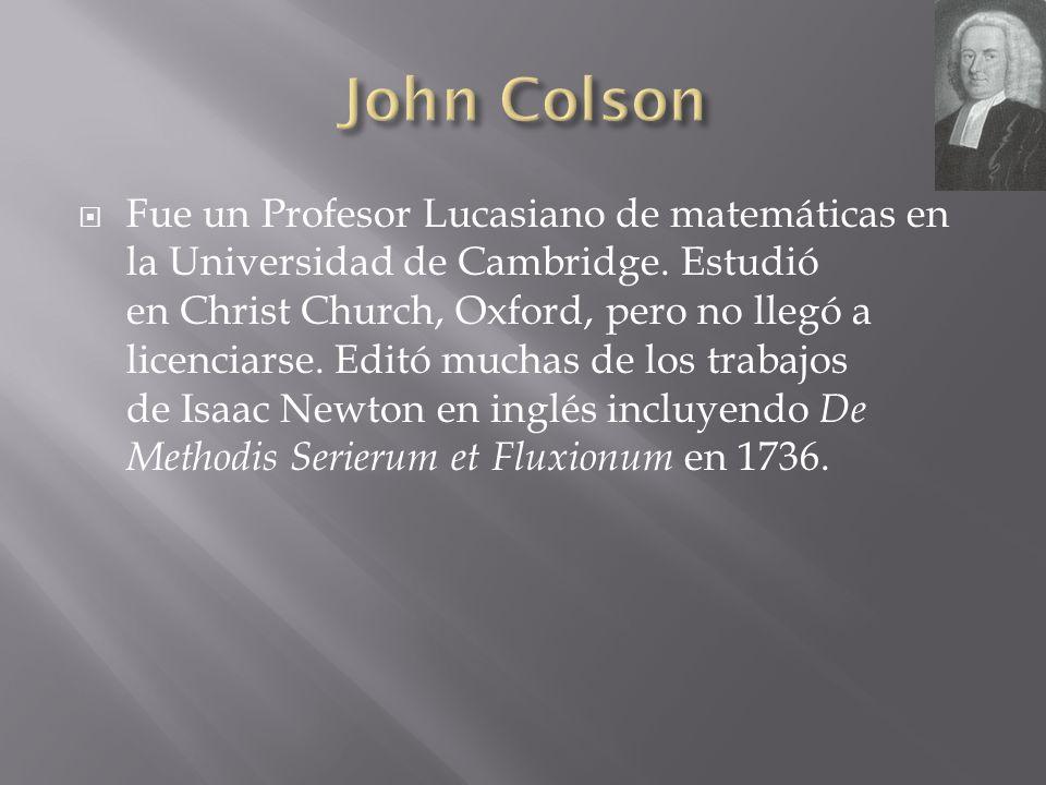 John Colson