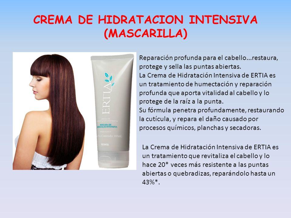 CREMA DE HIDRATACION INTENSIVA (MASCARILLA)