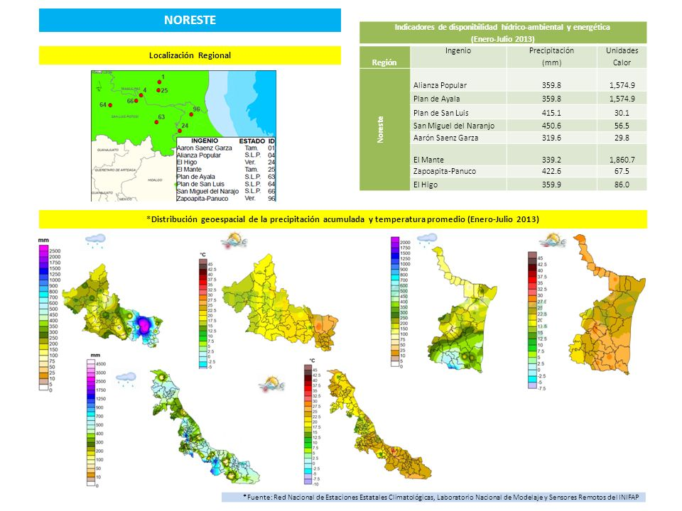 NORESTE Localización Regional