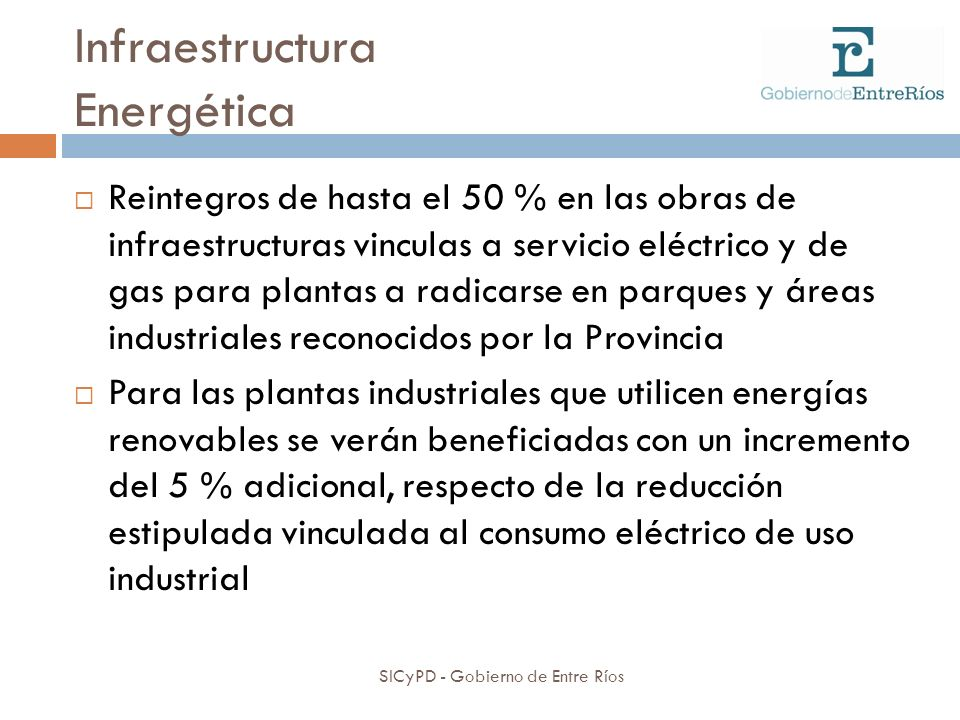 Infraestructura Energética