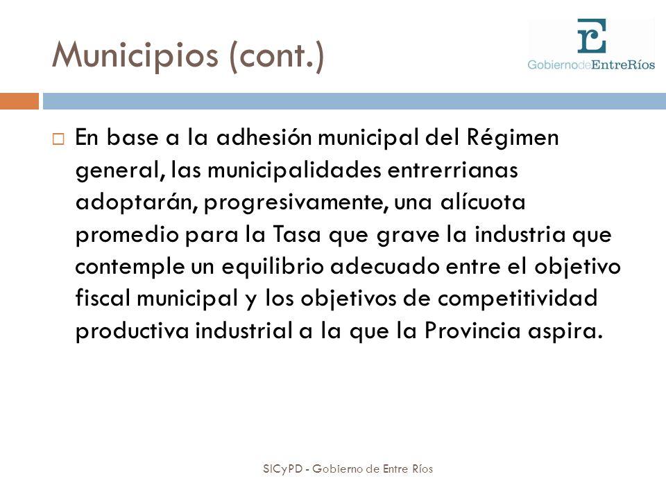 Municipios (cont.)