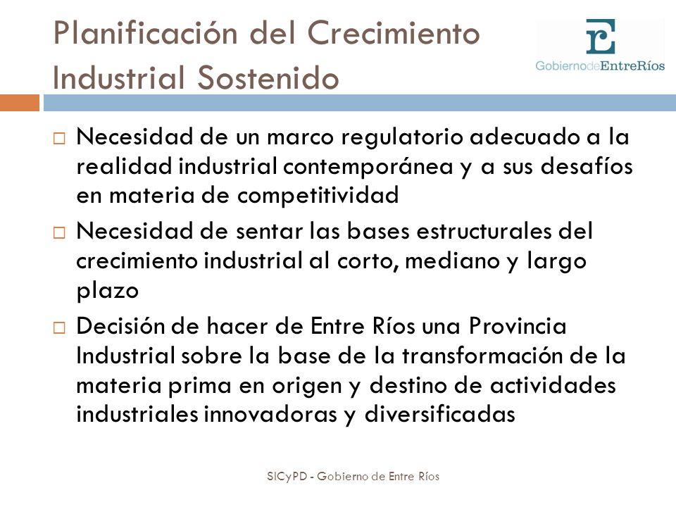 Planificación del Crecimiento Industrial Sostenido