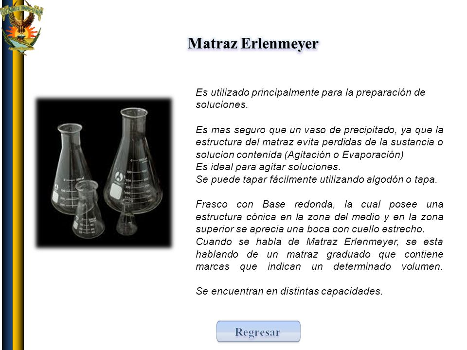 Matraz Erlenmeyer Regresar
