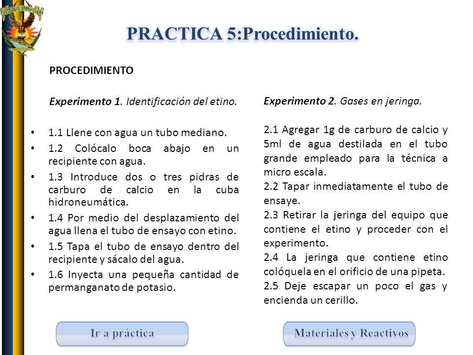 PRACTICA 5:Procedimiento.