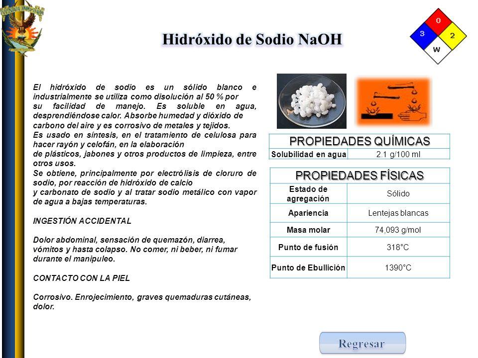 Hidróxido de Sodio NaOH