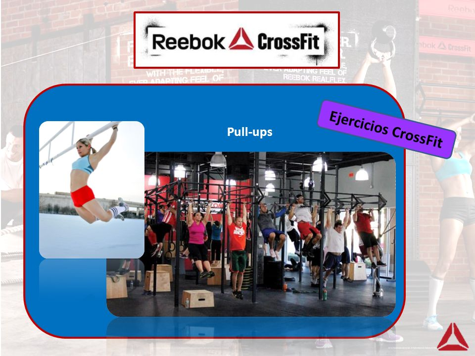Ejercicios CrossFit Pull-ups