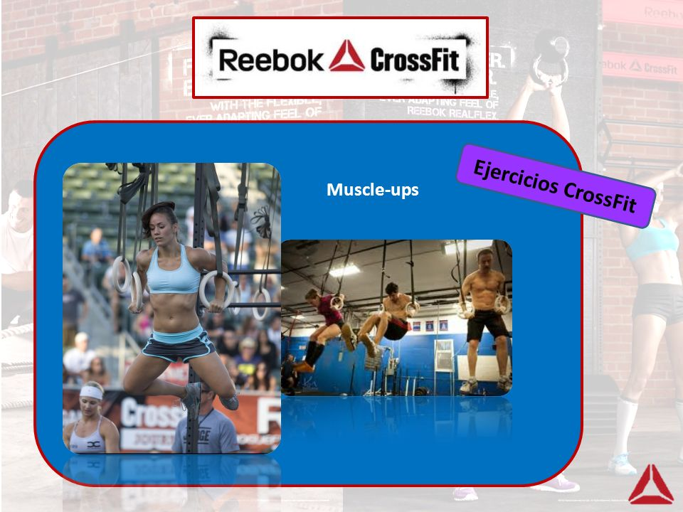 Ejercicios CrossFit Muscle-ups