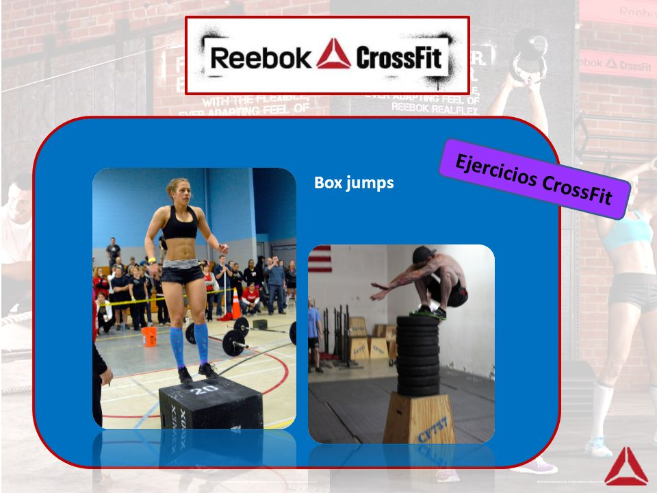 Ejercicios CrossFit Box jumps