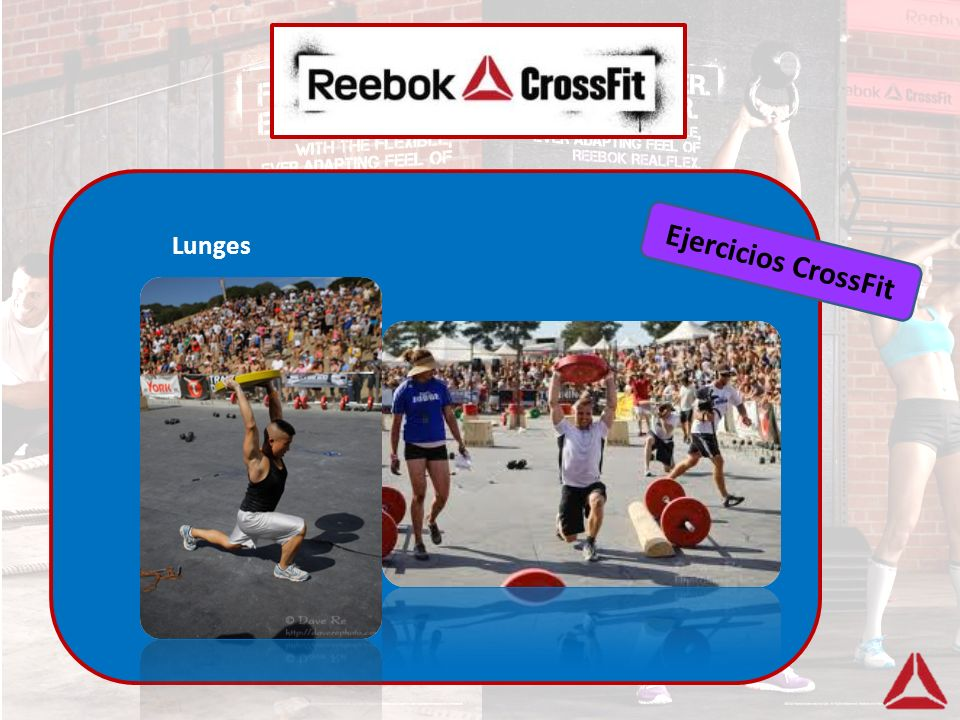 Lunges Ejercicios CrossFit