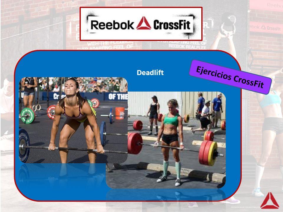 Deadlift Ejercicios CrossFit