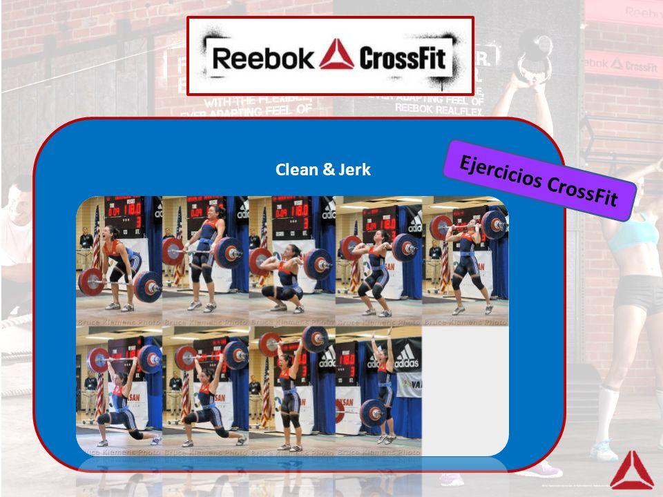 Clean & Jerk Ejercicios CrossFit