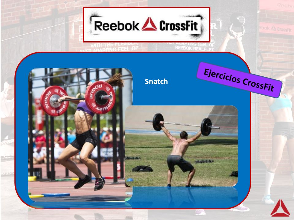 Ejercicios CrossFit Snatch