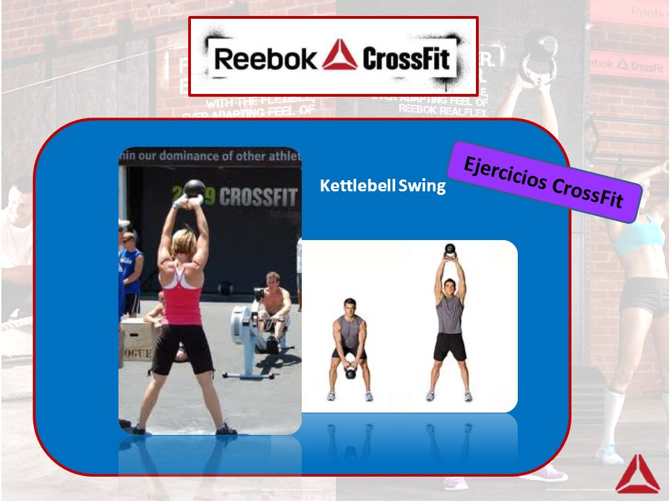 Ejercicios CrossFit Kettlebell Swing