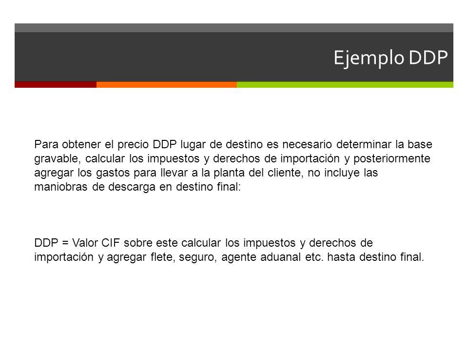 Ejemplo DDP