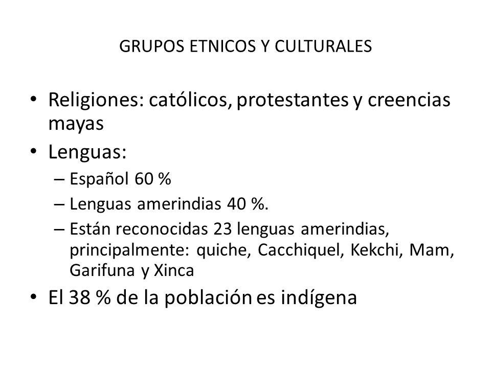 GRUPOS ETNICOS Y CULTURALES
